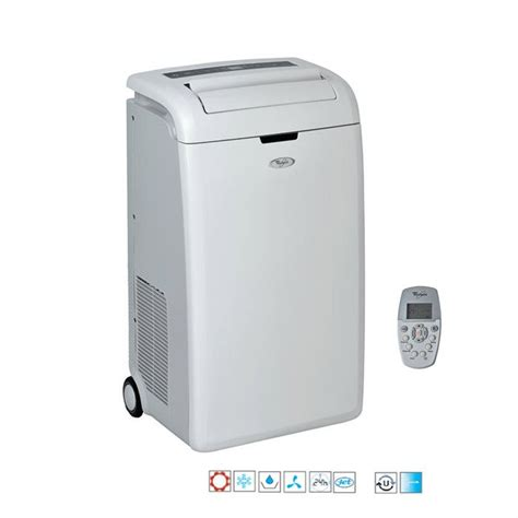 Climatiseur Mobile Sans Evacuation 232 by Whirlpool Amd091 Climatiseur Mobile Achat Vente