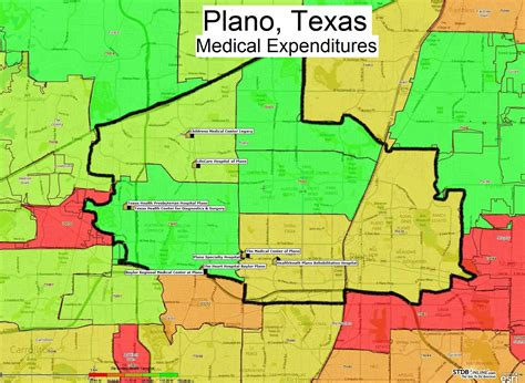 where is plano texas on a map zip codes map texas images