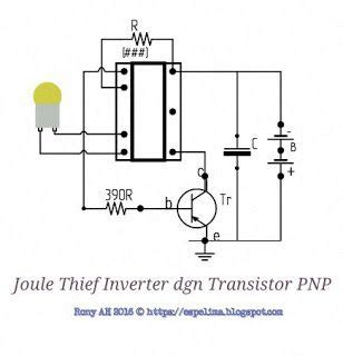 transistor pnp inverter 25 best ideas about joule thief on the joule arduino transistor and electronics