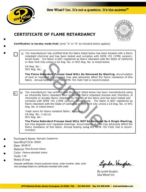 upholstery certificate the basics of fabric flammability and flame retardancy