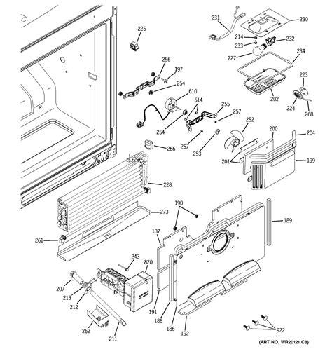 ge refrigerator diagram i a ge door refrigerator freezer on bottom