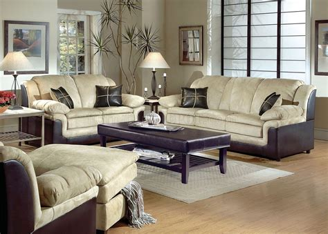 two tone living room two tone contemporary living room w solid wood feet