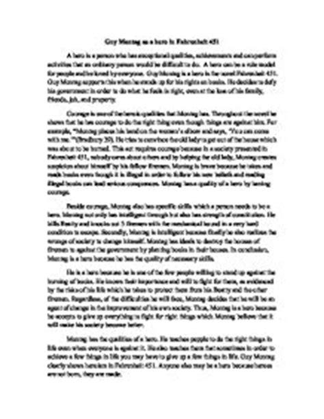 Fahrenheit 451 Essay Topics by Fahrenheit 451 Essay 100 Original Papers Spd Alzey De