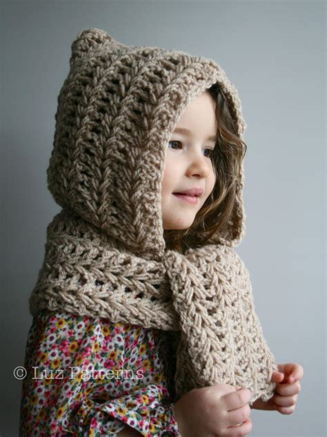 crochet pattern instant crochet hat pattern hooded