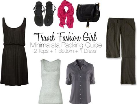 minimalist packing 4 clothing items can you travel with