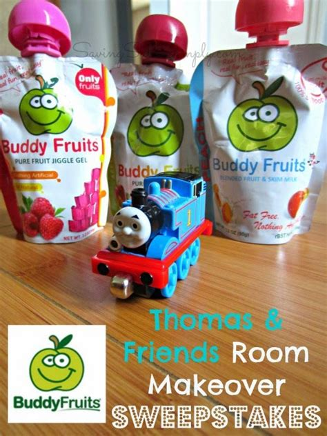 Mommy Makeover Sweepstakes - buddy fruits thomas friends room makeover sweepstakes raising whasians
