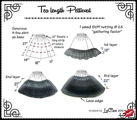 pattern making en espanol how to make a very fluffy tea length petticoat sewing