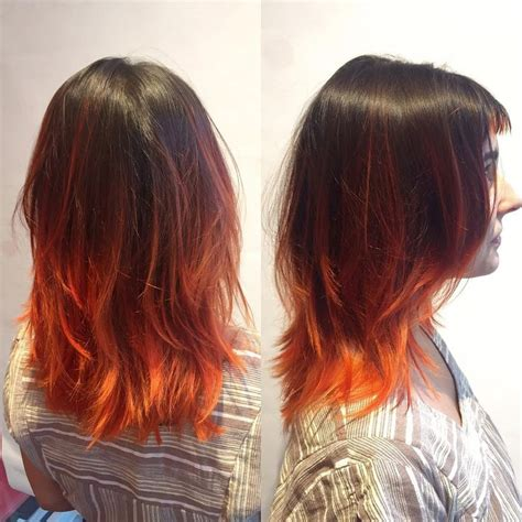 burnt orange hair color the 25 best burnt orange hair ideas on burnt