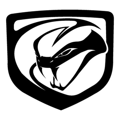 Dodge Car Logo dodge viper 2012 logo decal