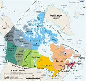 the map of canada file canada geopolitical map trim jpg