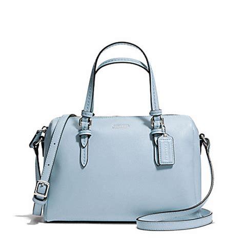 coach f50430 peyton mini satchel silver sky coach handbags