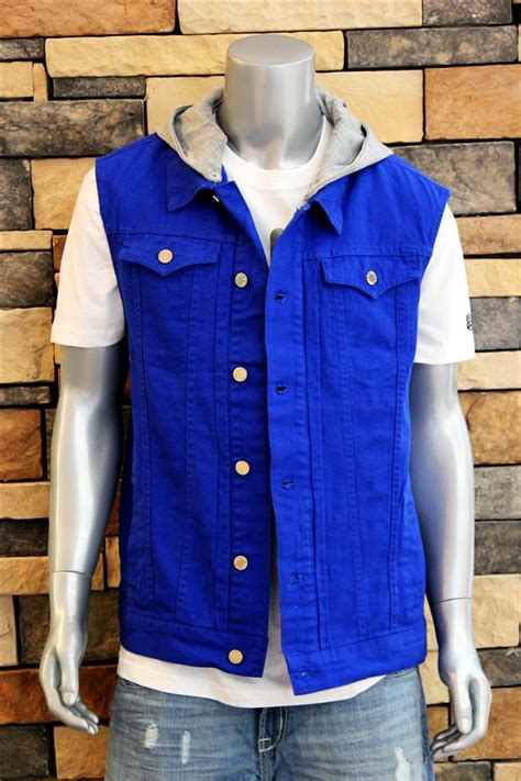 Jaket Hoodie Jkt 48 Import Quality 3 s new various colors premium denim vest w detachable