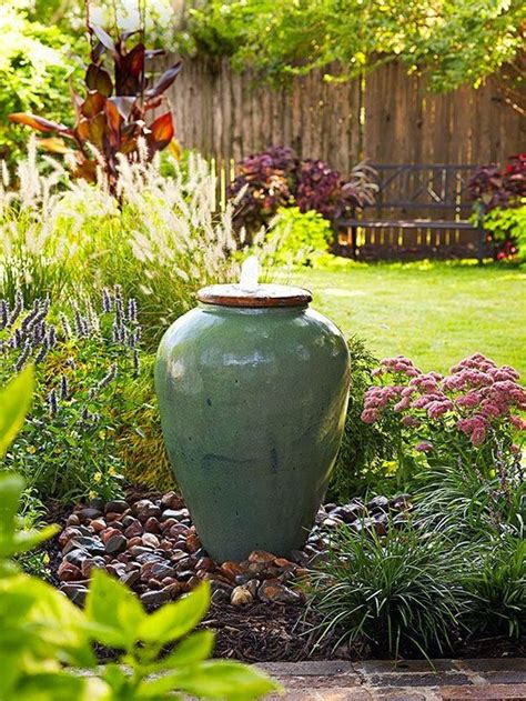 easy backyard water features easy backyard fountain backyard inspiration fountains