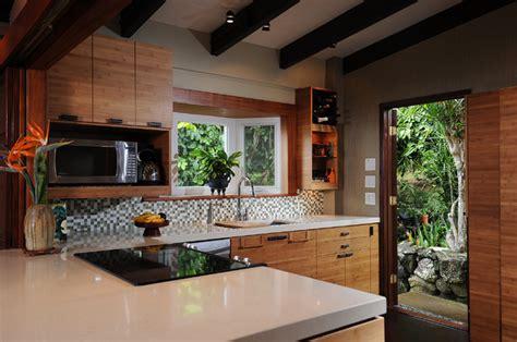 zen kitchen island style tropical kitchen hawaii  mcyia interior architecture  design