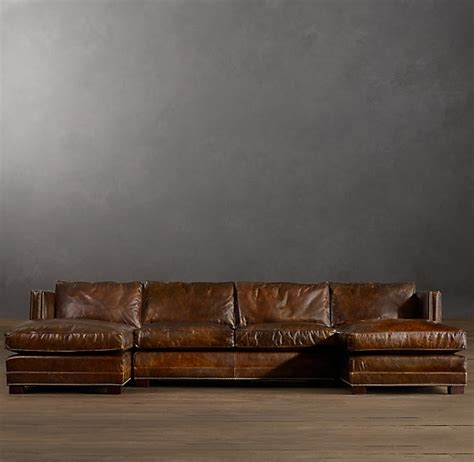 easton leather u chaise sectional how awesome does this