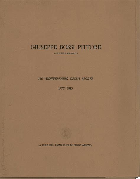 librerie busto arsizio giuseppe bossi pittore lions club di busto arsizio