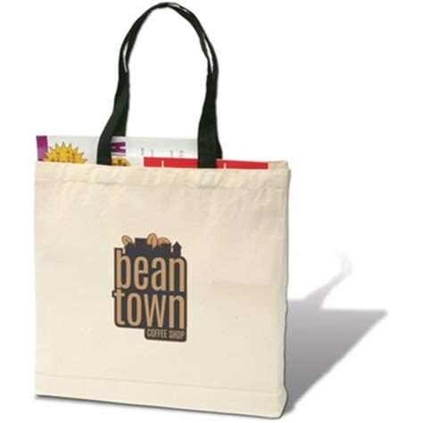 Giveaway Bags With Logo - full color trade show giveaway promotional tote bag 11 x 14 x 5 epromos