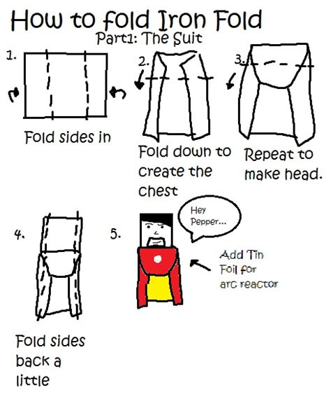 How To Make A Paper Iron - october 2013 master folders
