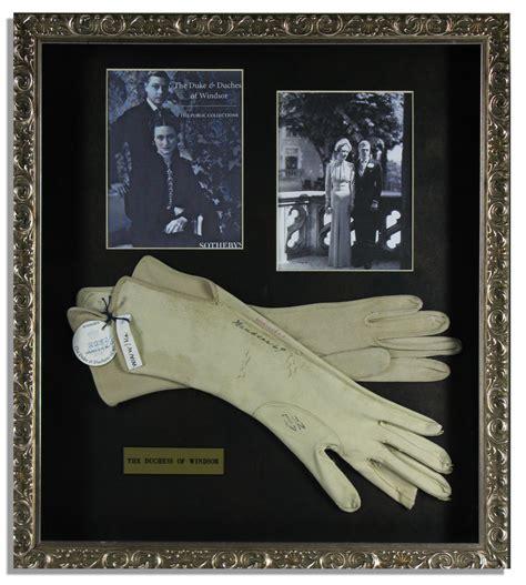 Lot Detail   Wallis Simpson, Duchess of Windsor Worn Gloves