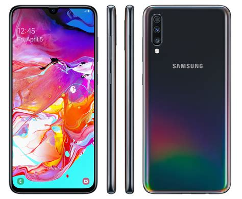 Is A Samsung Galaxy S10 Waterproof by Samsung Galaxy A70 Features 6 7 Inch Display And 4500mah Battery Phonedog