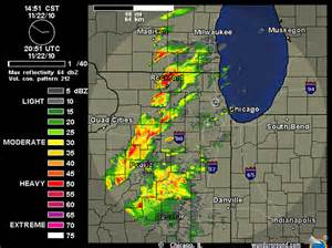 Chicago Radar Map by Chicago Ilweather Map Submited Images