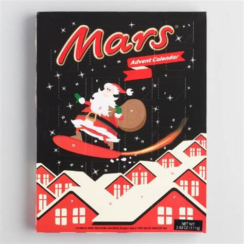 Chocolate Calendar Mars Chocolate Advent Calendar World Market