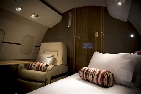 private jet with bed bombardier global 6000 bedroom 171 privatefly blog
