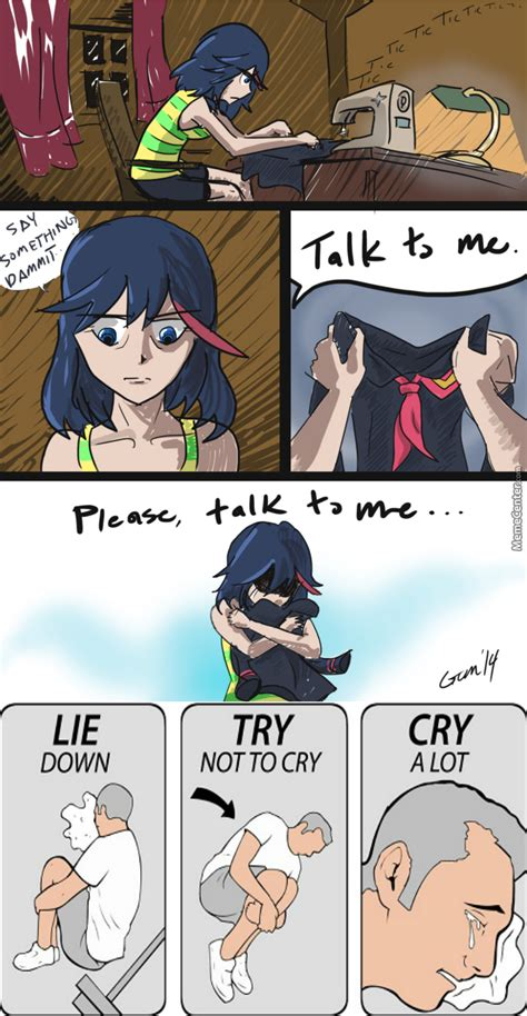 Kill La Kill Meme - not again ಥ ಥ anime name kill la kill by ohgody meme