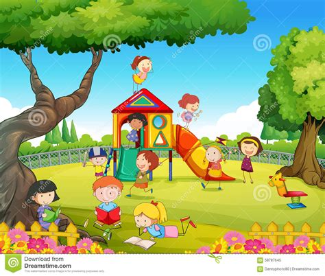 painting free to play playground clipart free play pencil and in color