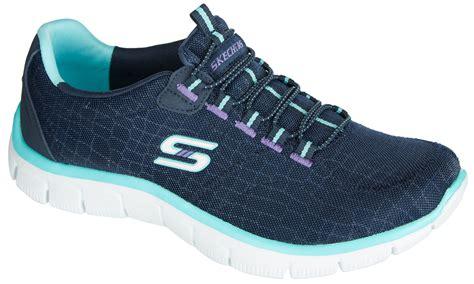 sketcher slip on sneakers skechers womens rock around slip on walking shoes ebay