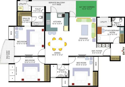 house design layout plan floor plan designer casual cottage