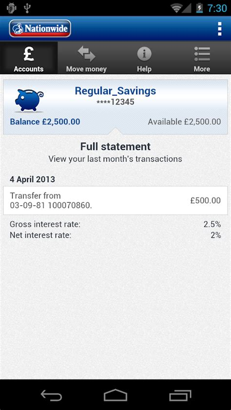 nationwide mobile banking android apps  google play