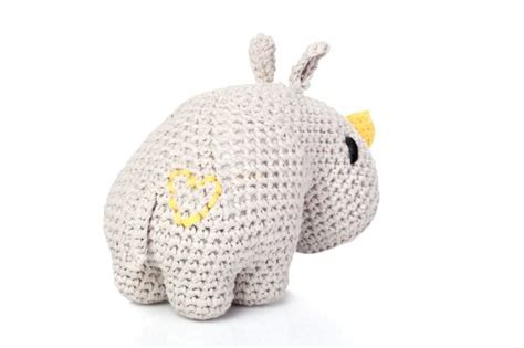 amigurumi rhino pattern diy pattern amigurumi rhino dex hoooked