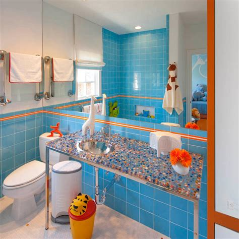 orange and blue bathroom decor 5 fresh bathroom colors to try in 2017 hgtv s decorating