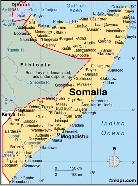map of somalia atlas somalia