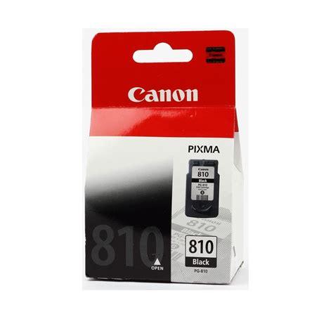 Tinta Printer Canon Pg 810 Canon Black Ink Cartridge Pg 810 Elevenia
