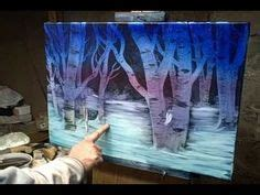 bob ross painting on black gesso on paintings on bob ross bob ross