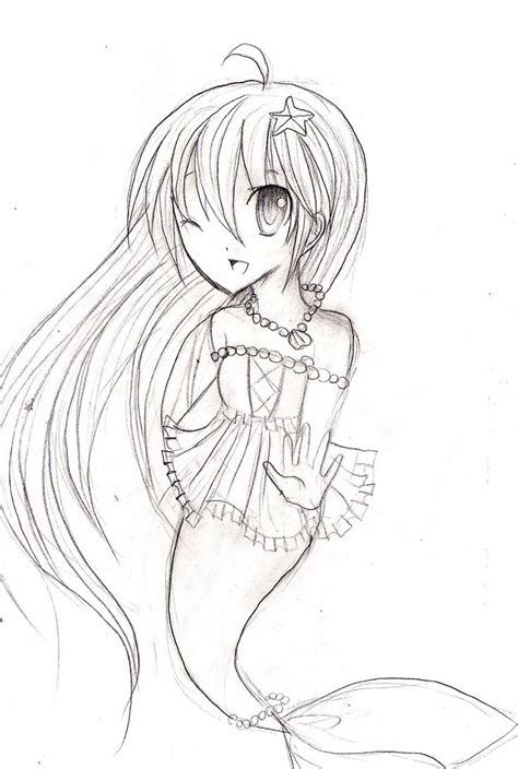 chibi mermaid lineart by kaitoucoon on deviantart comm chibi mermaid by karinrin on deviantart