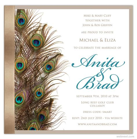 Beautiful Wedding Invitation Cards Designs