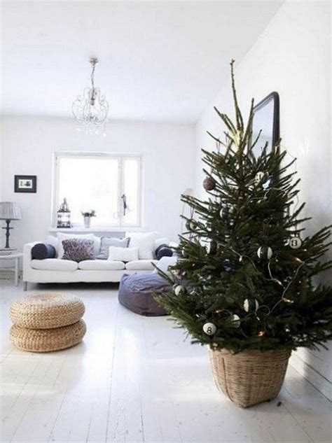 tree with lights and ornaments 52 small tree decor ideas comfydwelling