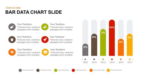 Powerpoint Chart Design Bar Data Chart Powerpoint And Keynote Template Slide