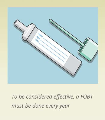 fobt fecal occult blood test screen to prevent