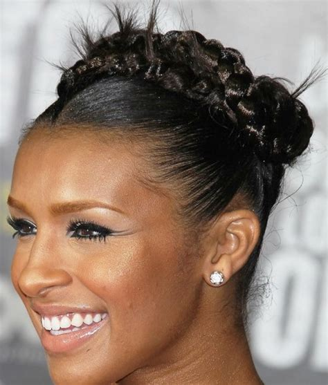 african american updo braided styles for my hair that is short on one side and long on the other african american black braided hairstyles 2013