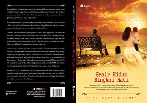 Kitab Hidup Patah Hati Kepedihan syair hidup bingkai hati buku