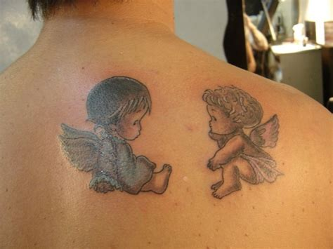 imagenes de tatuajes de querubines angelitos beb 233 s para tatuajes imagui