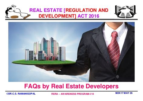 Executive Mba In Real Estate by Mba In Real Estate Management Why Rera By Professor Dr C