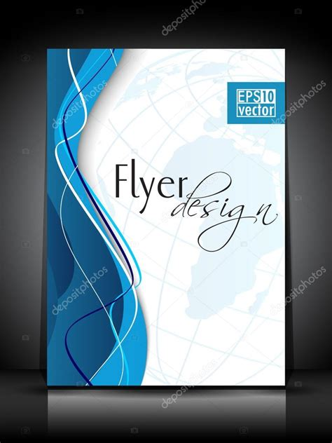 Cover Design Vorlage Professionelle Business Flyer Imagebrosch 252 Re Oder Cover Design Vorlage Stock Vektorgrafik