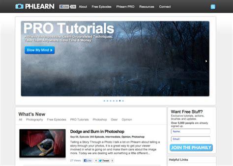 tutorial buat website keren 5 website tutorial photoshop keren