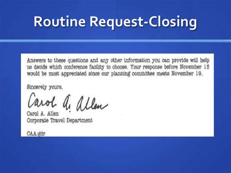 Routine Request Letter Exle Routine Request Letter Format Letter Format 2017