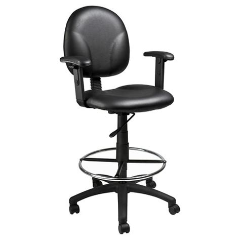 Caressoft Stool by Caressoft Drafting Stools With Adjustable Arms Footring